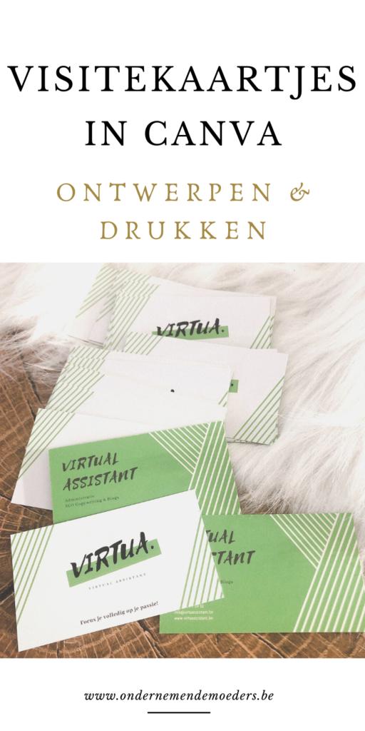 Visitekaartjes zelf maken in Canva tips en informatie zelf maken ontwerpen