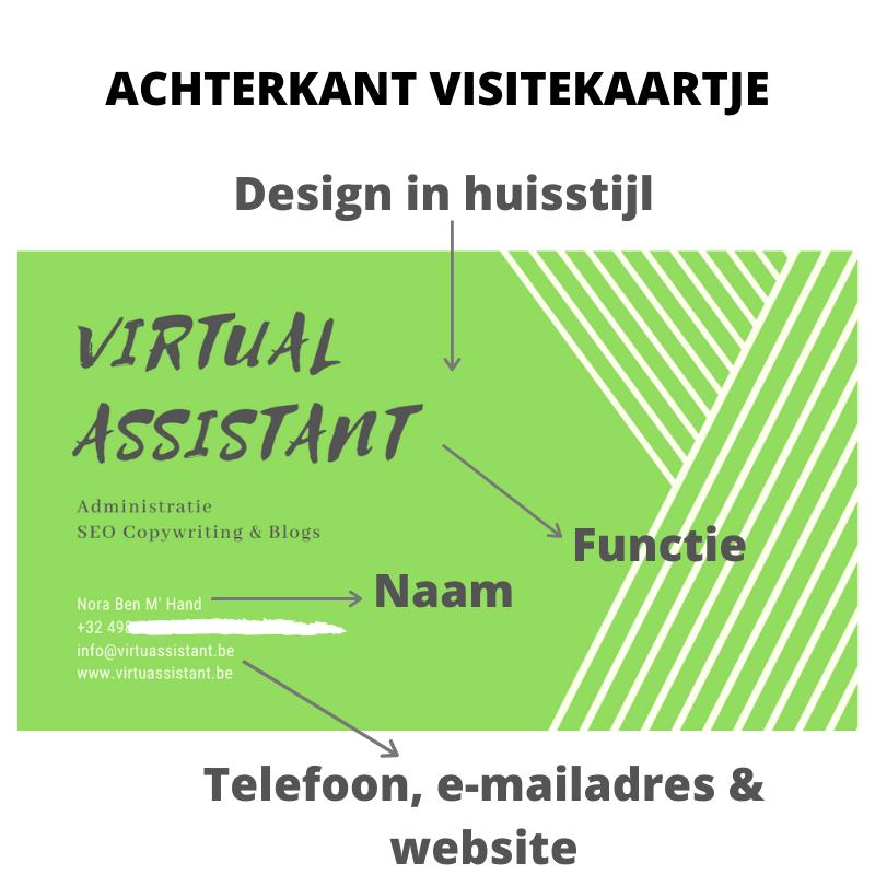 business cards ontwerpen en drukken in Canva