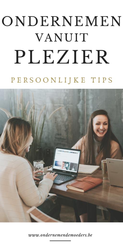Ondernemen vanuit plezier passie uit je bedrijf halen