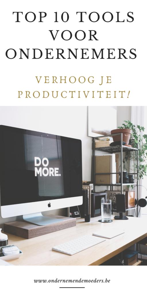 top apps en tools voor ondernemers productiviteit verhogen tijdsbesparende apps online gratis