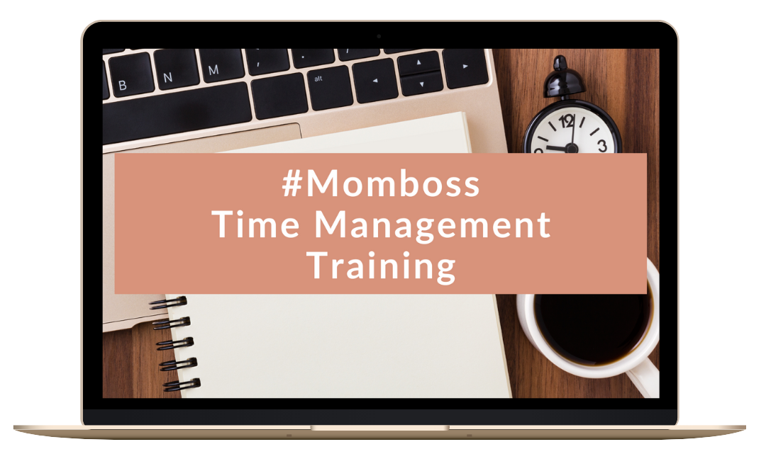 #Momboss Time Management Training mockup achtergrond